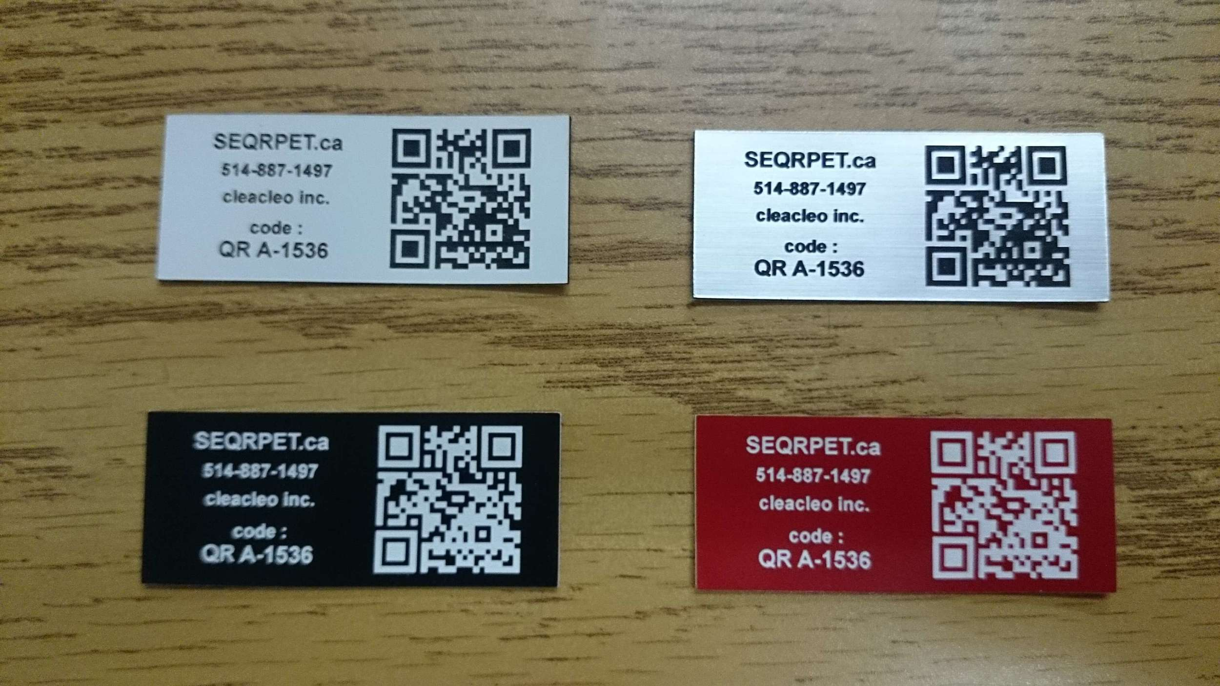 LASER ENGRAVING OF BAR CODES AND QR CODES | Systana