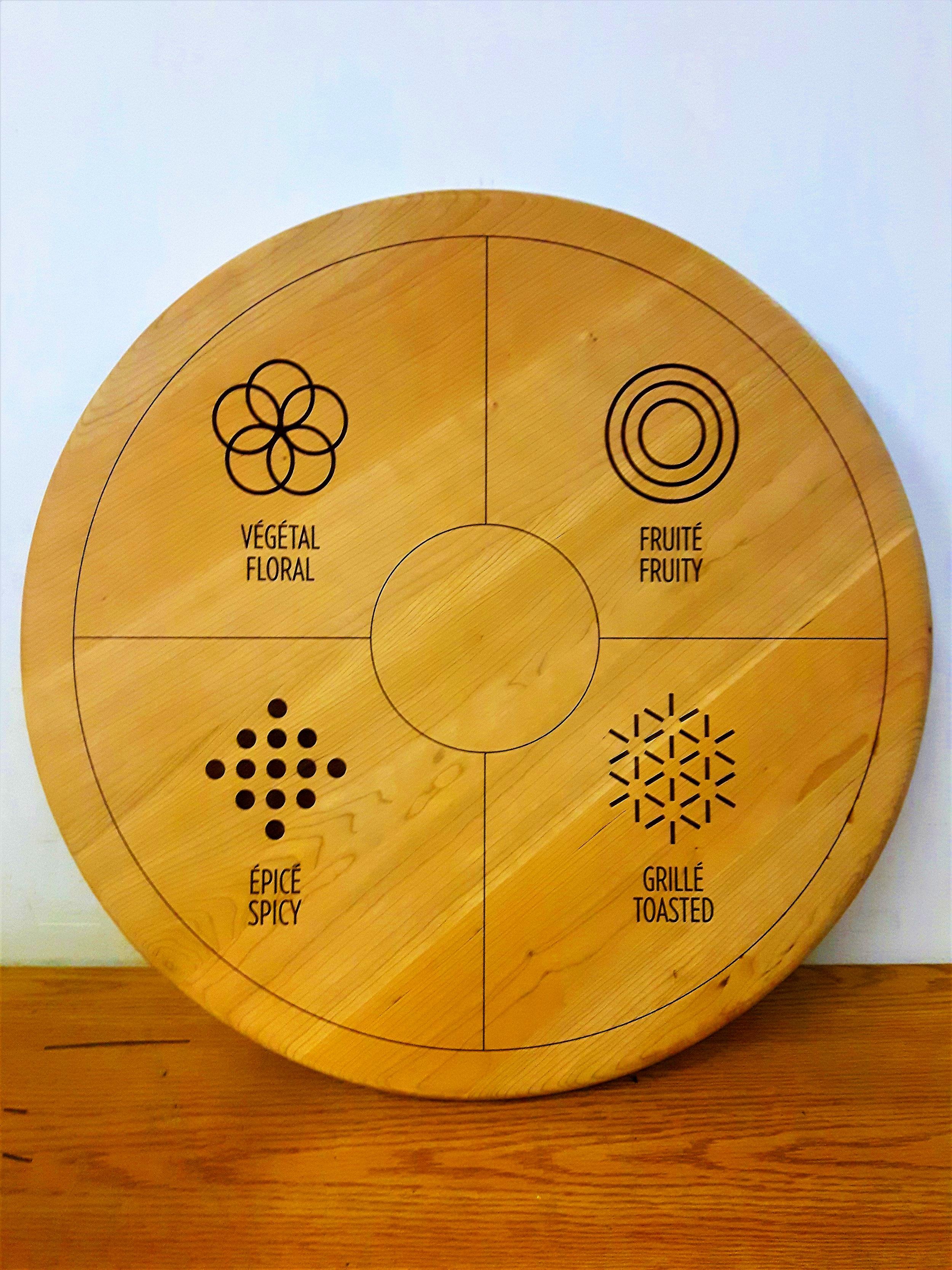 La gravure laser sur bois est toujours dès plus populaire au sein de notre clientèle. Votre idée, notre expertise!