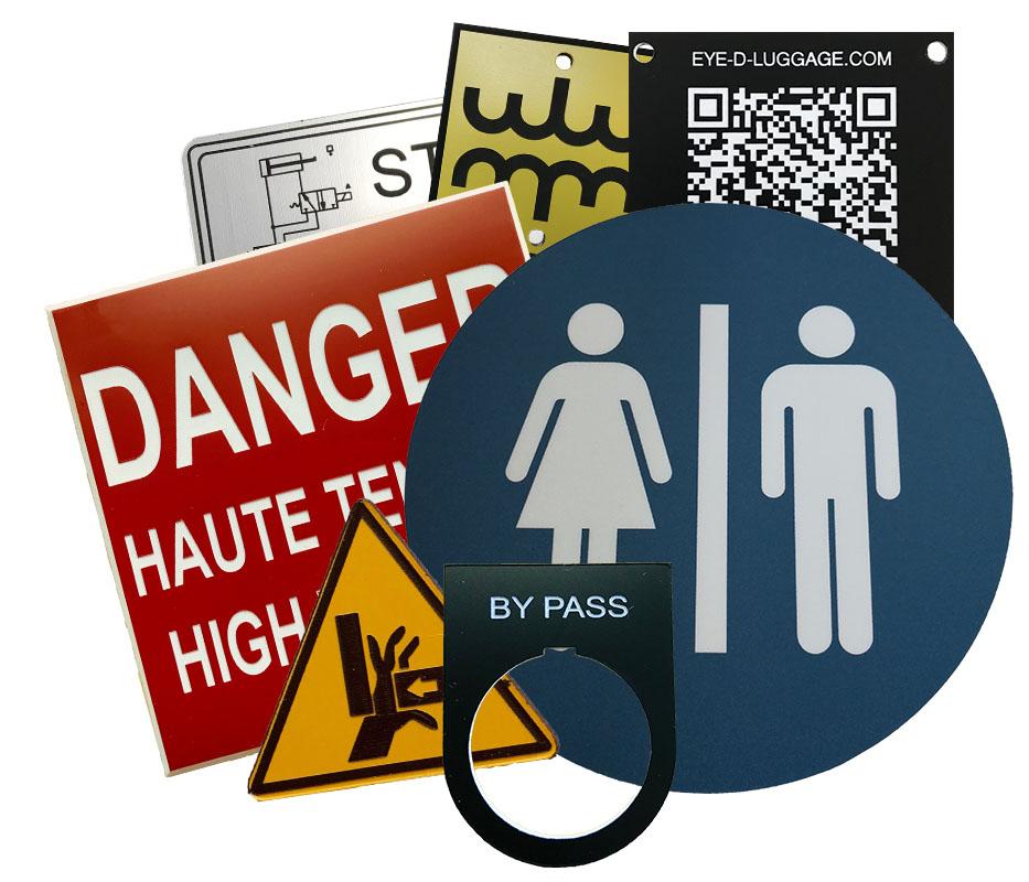 Affichage directionnel, informatif, de sécurité et besoins industriel. Votre besoin, notre expertise!