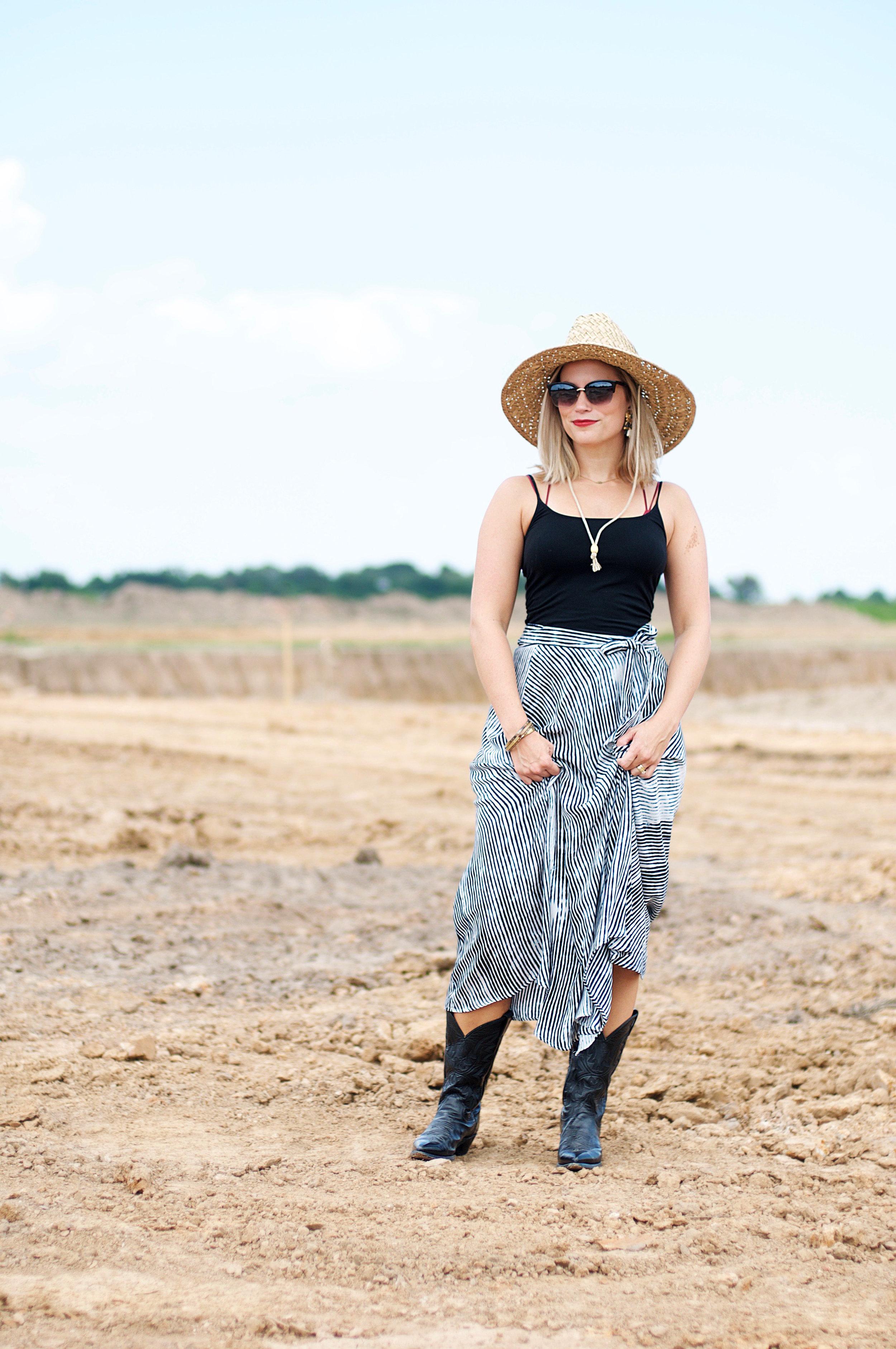 Striped Wrap Skirt3.jpg