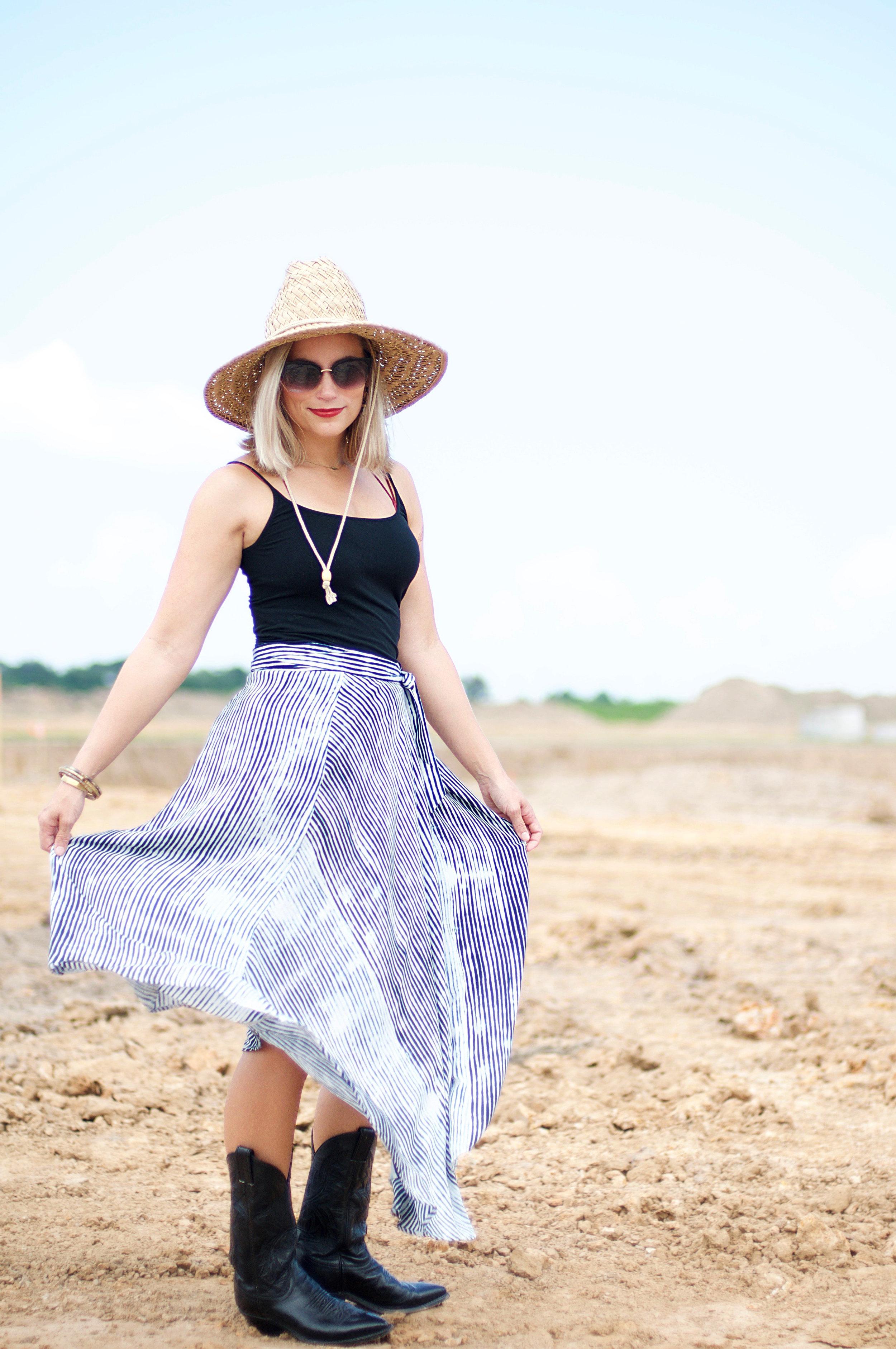 Striped Wrap Skirt4.jpg