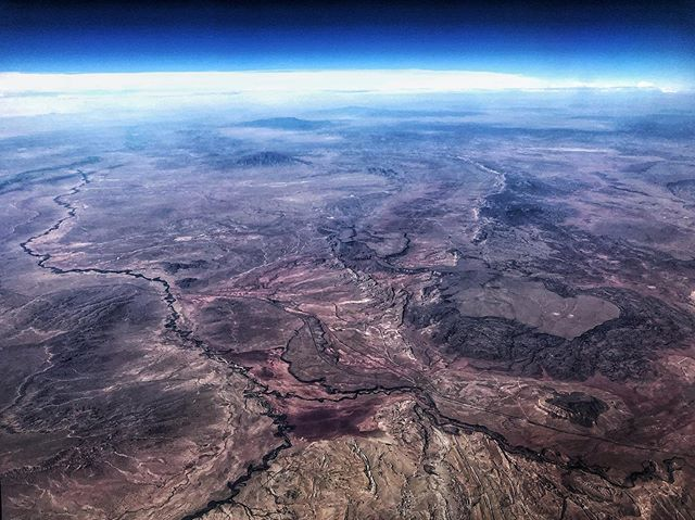 Desert/Ocean/Space/Clouds (Somewhere over NM...)