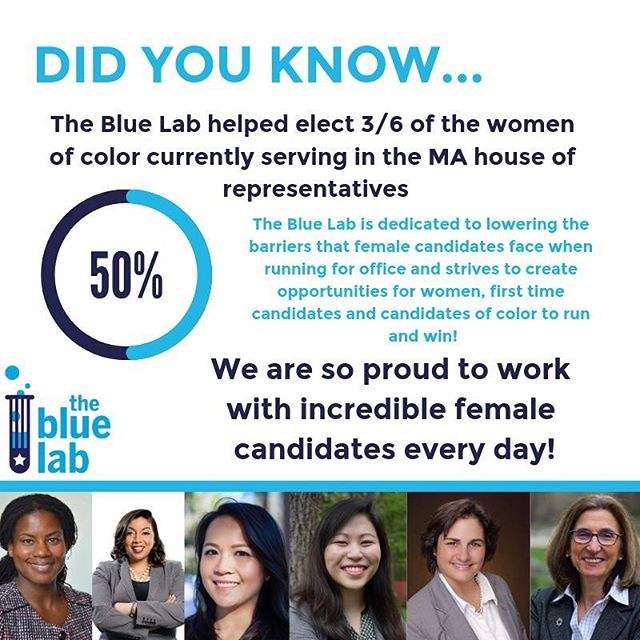 MA might still be an ''Old Boys Club'' for now, but the Blue Lab is dedicated to changing that! #mapoli
