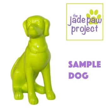 Jade Paw Project - Sample Dog Figurine