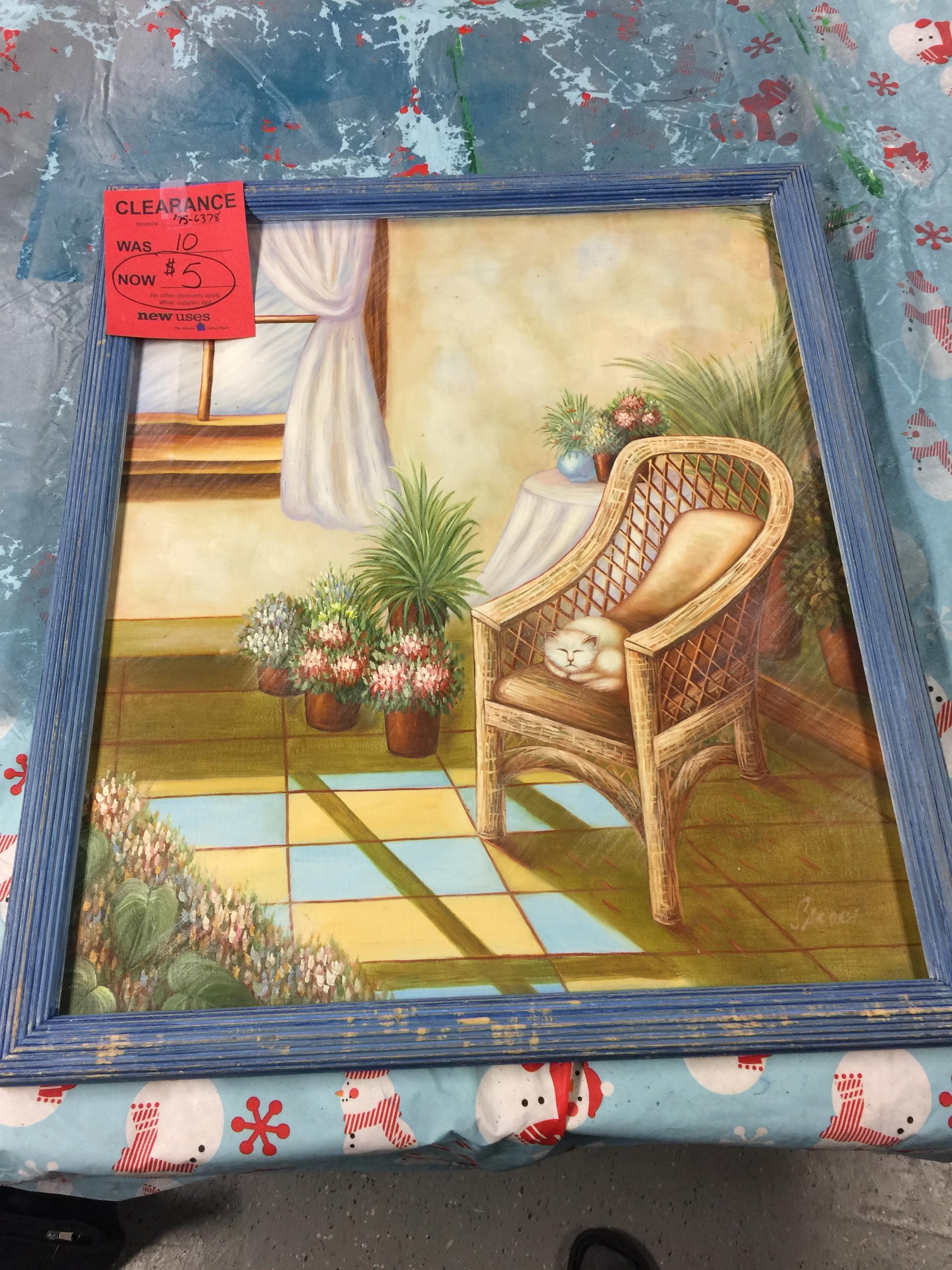 Second Hand Frame - $5.00