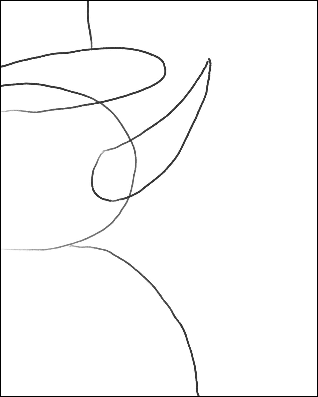 Step 5: Draw a Big Fun Nose!