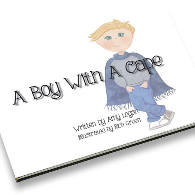 A Boy With A Cape - by Amy Logan