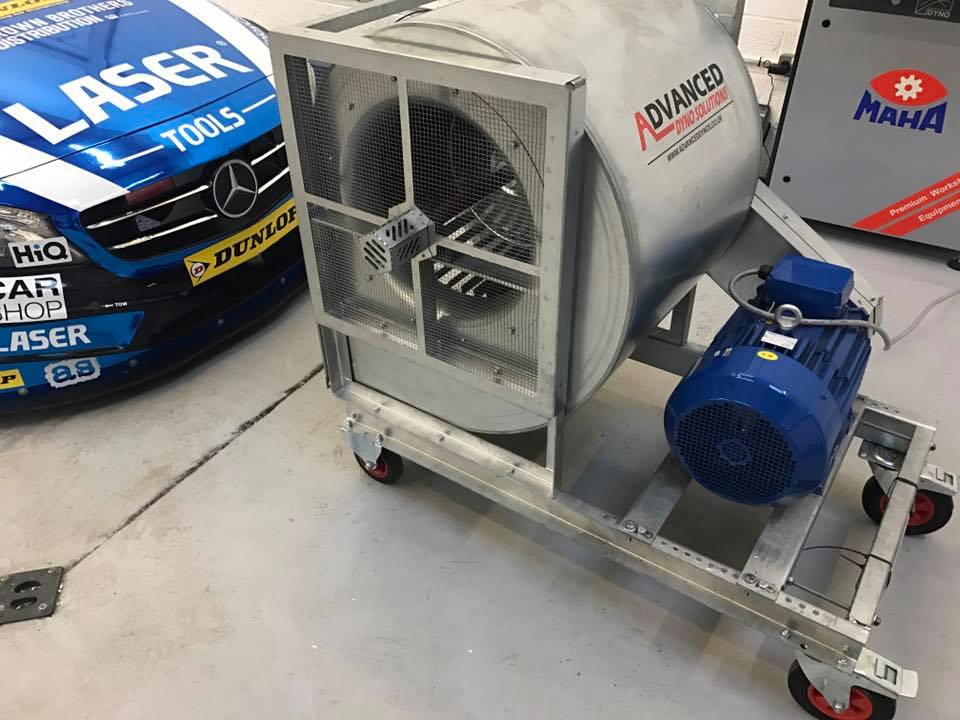 ADS Cooling & Extraction Fans - Our legendary cooling and extraction fans keep the cell at ambient pressure and temperature with never more than a +3C increase above outdoors (even with 1000hp) and noise levels are contained wo well within local authority as well as HSE guidelines