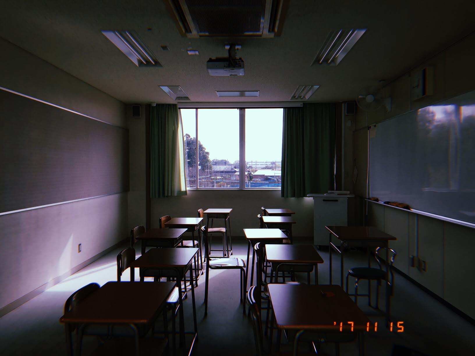 One of the smaller classrooms I teach in.