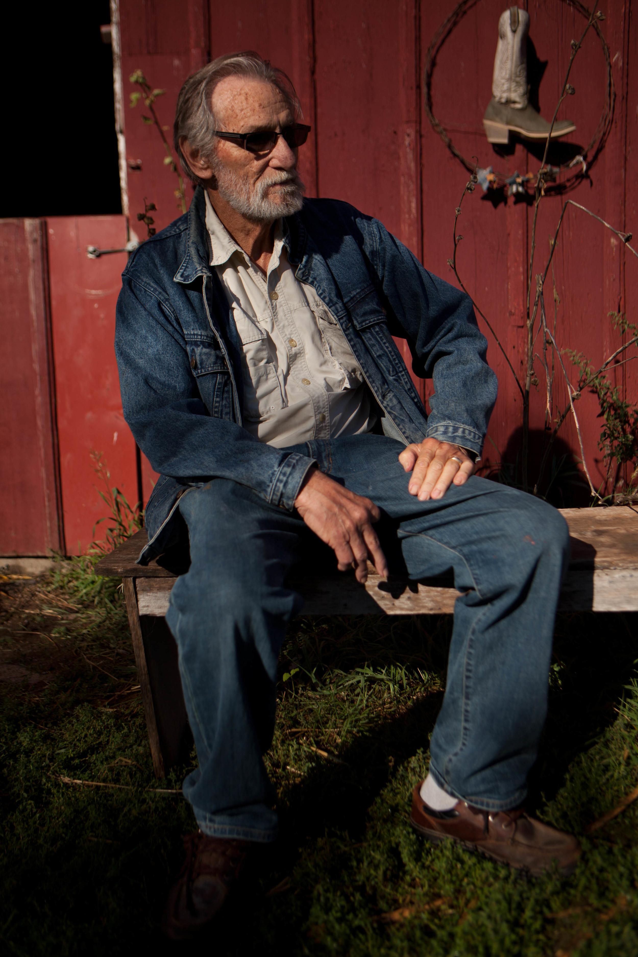 Calhoun County Farmer D.G. Partridge