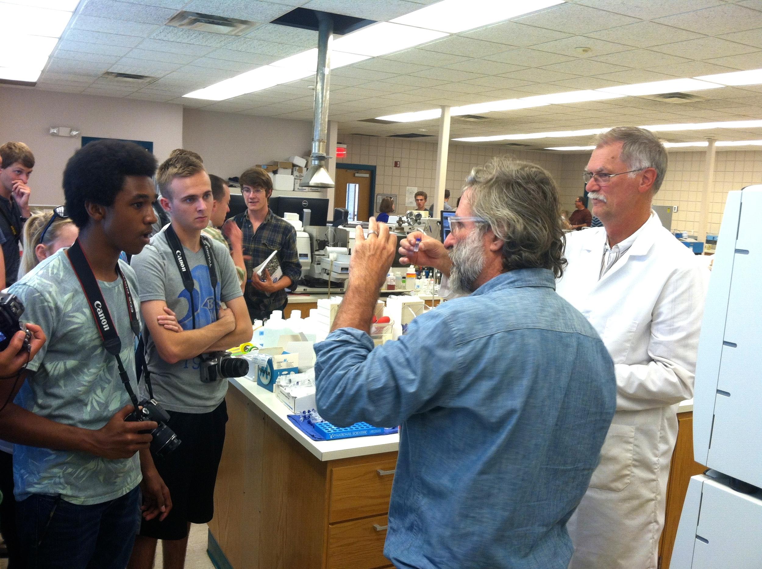 Field Studies: Des Moines Waterworks