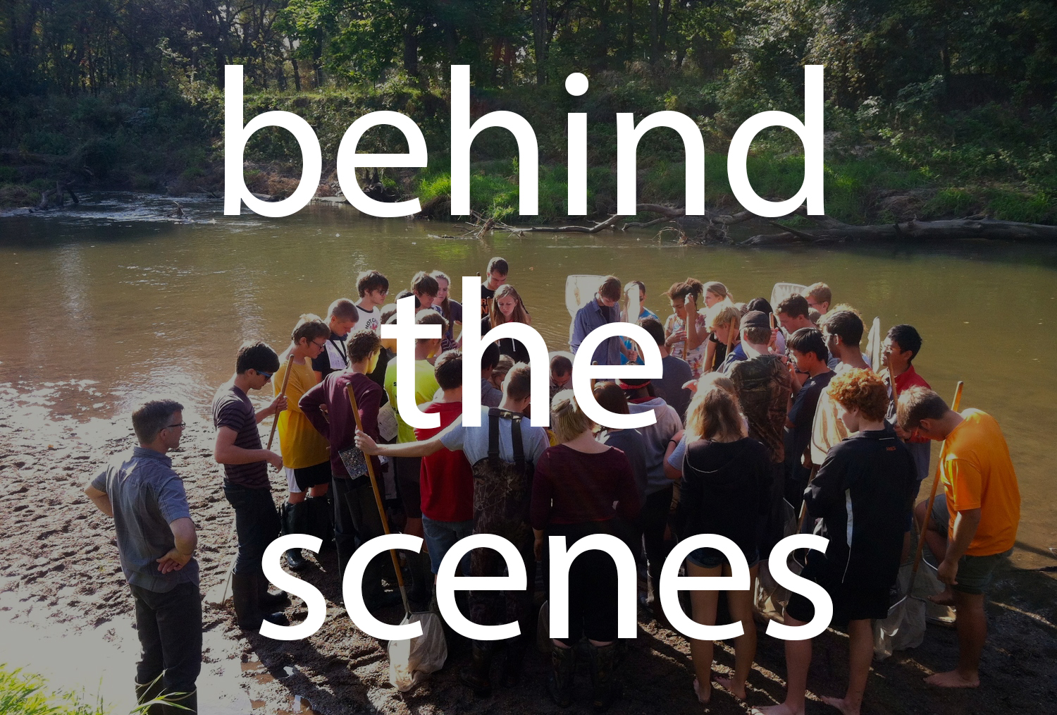 Click the image above  to view behind-the-scenes images that tell the story of The Bluestem Institute's Water Project.