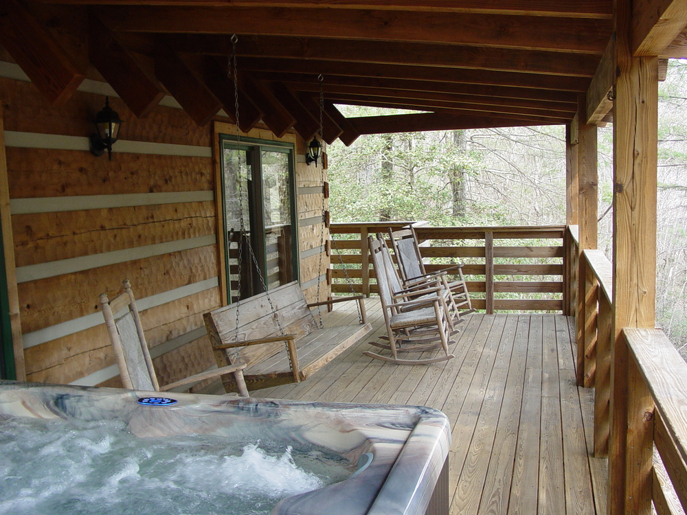Private Log Cabin Vacation Rentals Hot Tubs Boone Blowing Rock Nc