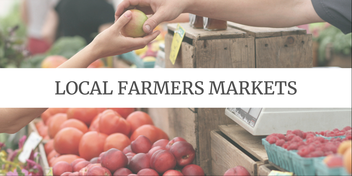 Eco-friendly Grocery Shopping Tips: shop at local farmers market
