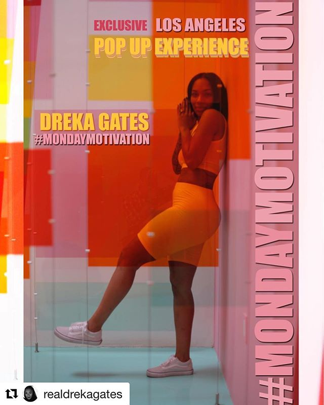 #Repost @realdrekagates with @get_repost ・・・ Post the photo above on your #Instagram page, hashtag #MondayMotivation With #DrekaGates 🙌🏾 and be 1 of 35 people I select to join me for an Exclusive Pop Up Experience this Monday, March 19, 2018 at 9:30 AM