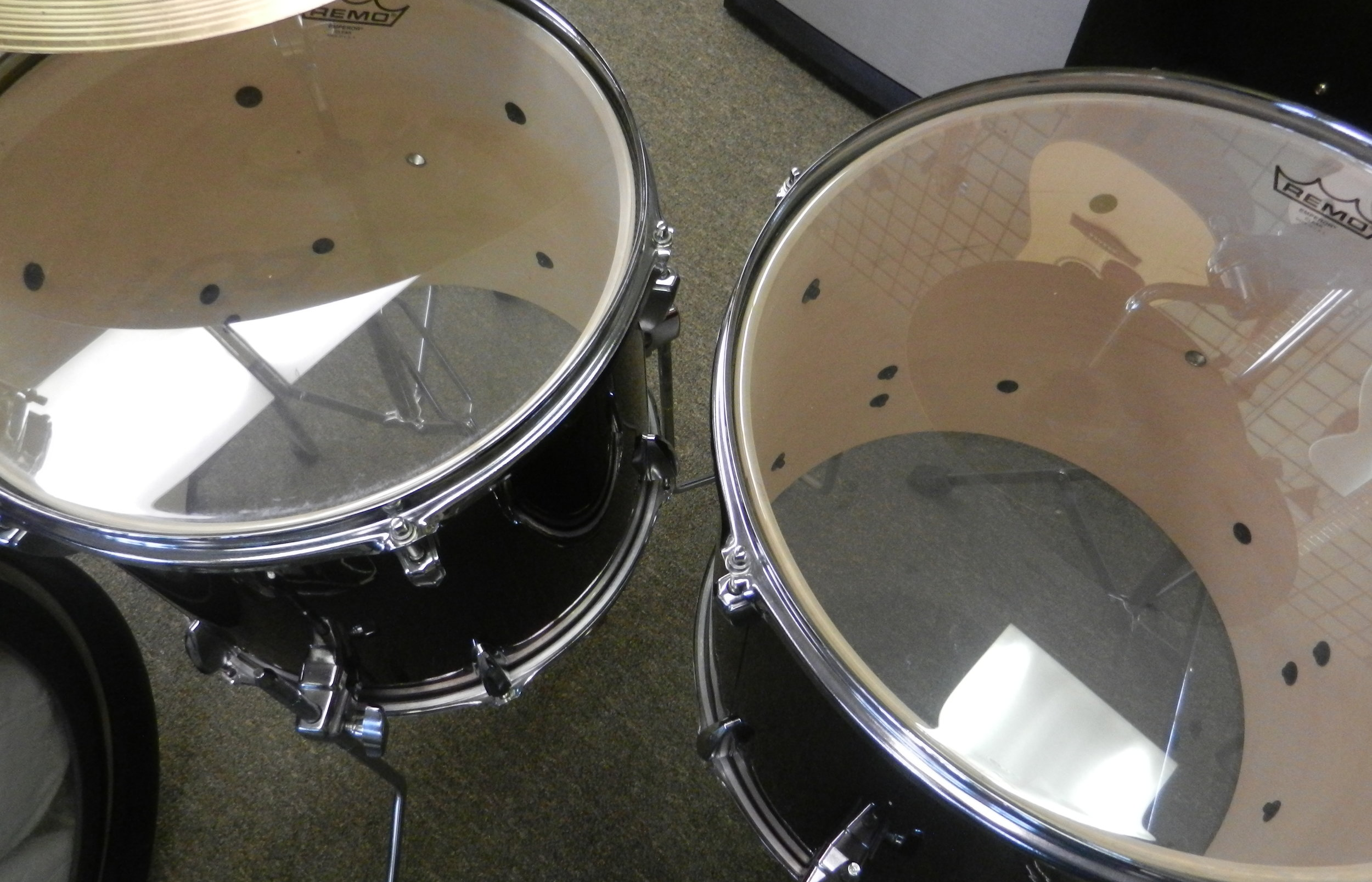 Used Tama Imperialstar Drum Set Floor Toms.JPG