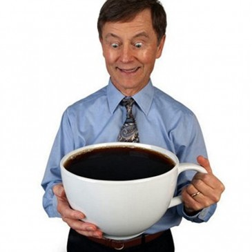 This doesn't count as one cup of coffee, sir.