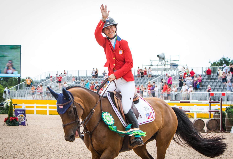 Lauren Hough, double bronze at the 2015 Pan American Games