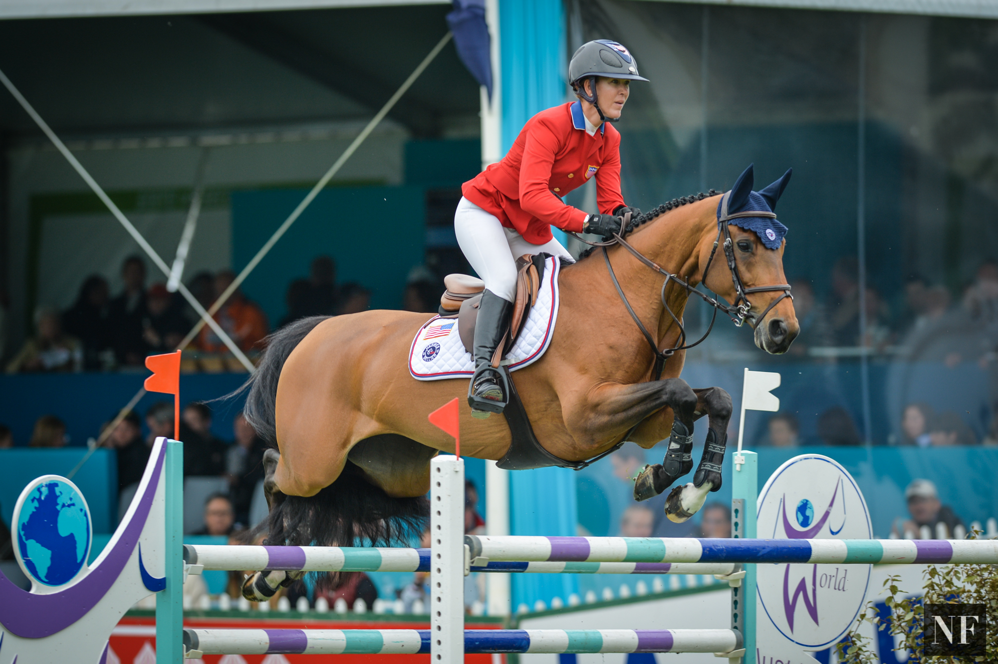 Lauren and Ohlala in the Furusiyya FEI Nations Cup at La Baule CSIO5*