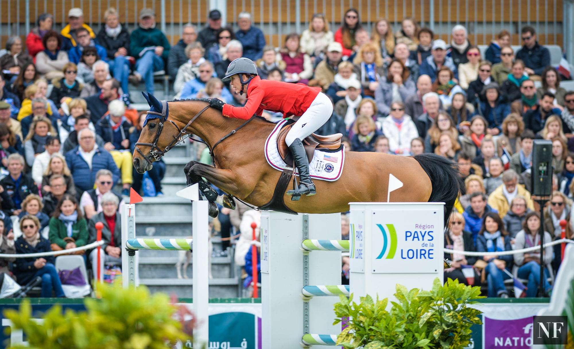 Lauren and Ohlala, FEI Nations Cup at CSIO5* La Baule