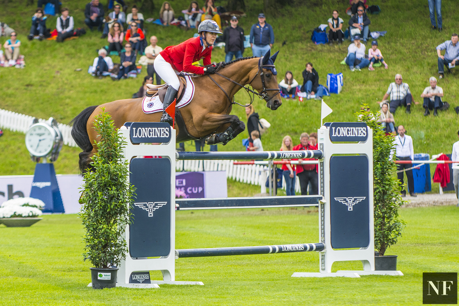 Lauren and Ohlala, FEI Nations Cup at CSIO5* St Gallen
