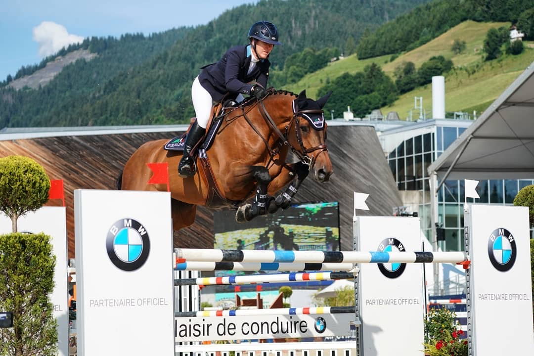 Lauren and Canamera 2 competing at CSI3* Megeve, July 2019