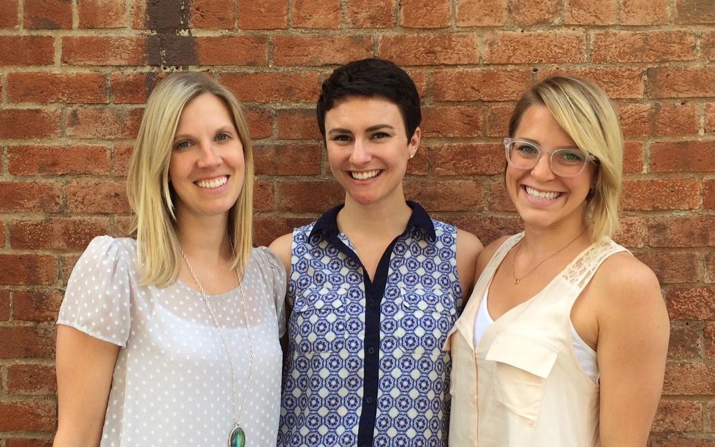 GILD Collective founders (from left): Kelsey Pytlik, Rachel Bauer McCreary, Jessie Deye