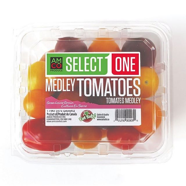 Medley tomatoes: a salad's best friend! 🥗 . . #medley #tomatoes #tomatomedley #vegan #yummy #tomato #tasty #fruit #healthyfood #healthysnacks #healthyeating #foodie #freshproduce #greenhousegrown #getinmybelly #buylocal #AMCOproduce #SelectOne