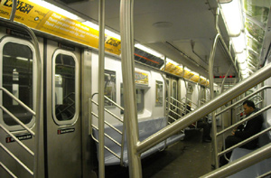 2 Train in Brooklyn