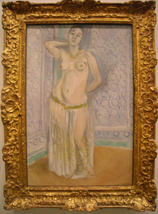 Odalisque Bleue ou L'Esclave Blanche, Matisse