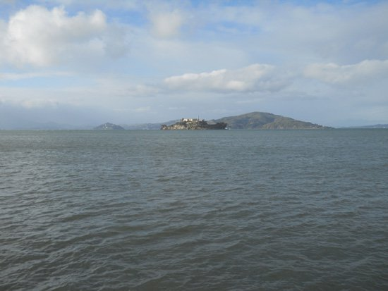 View of Alcatraz from Pier 39, March 2011