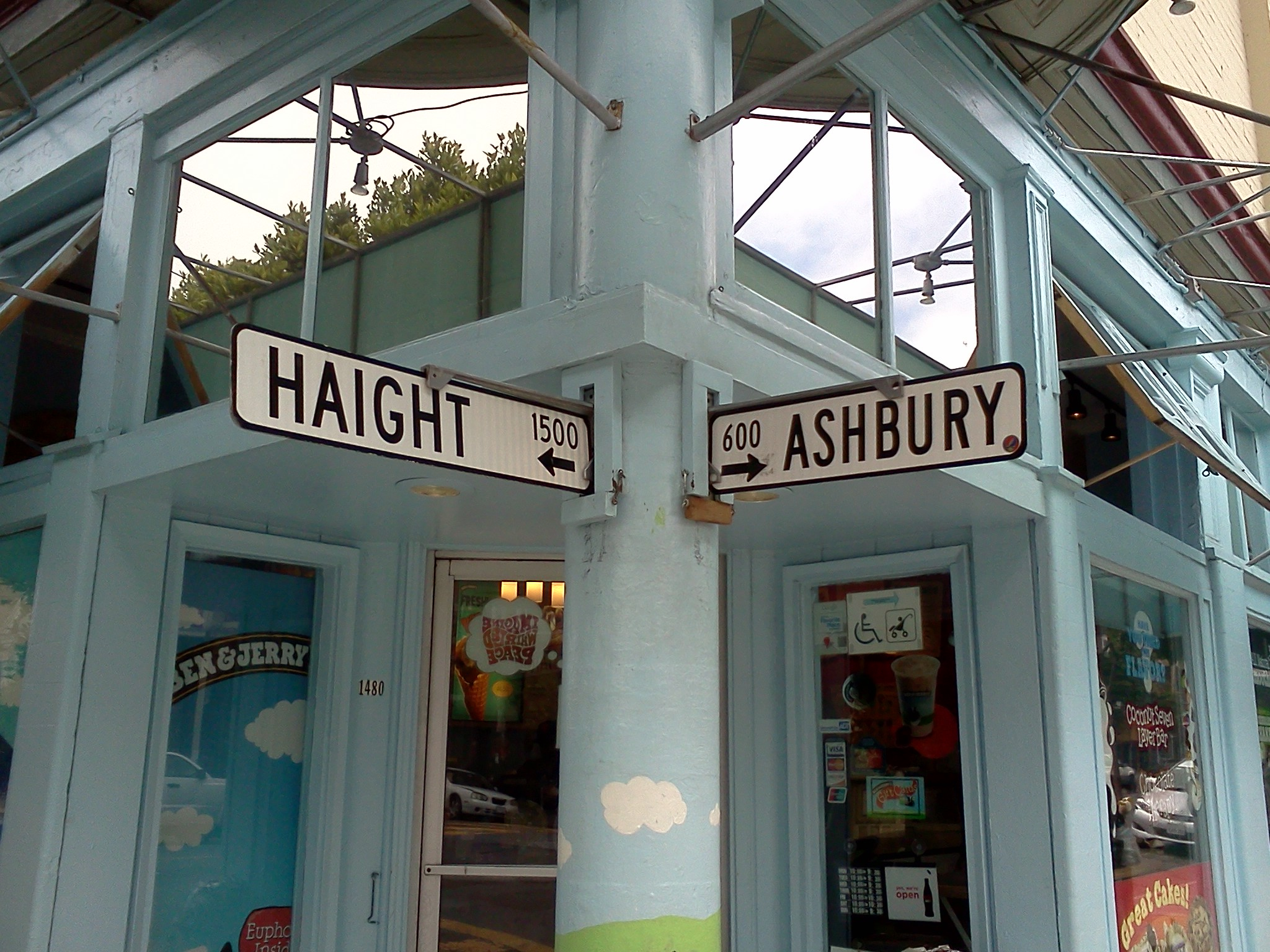 Haight Ashbury, August 2011