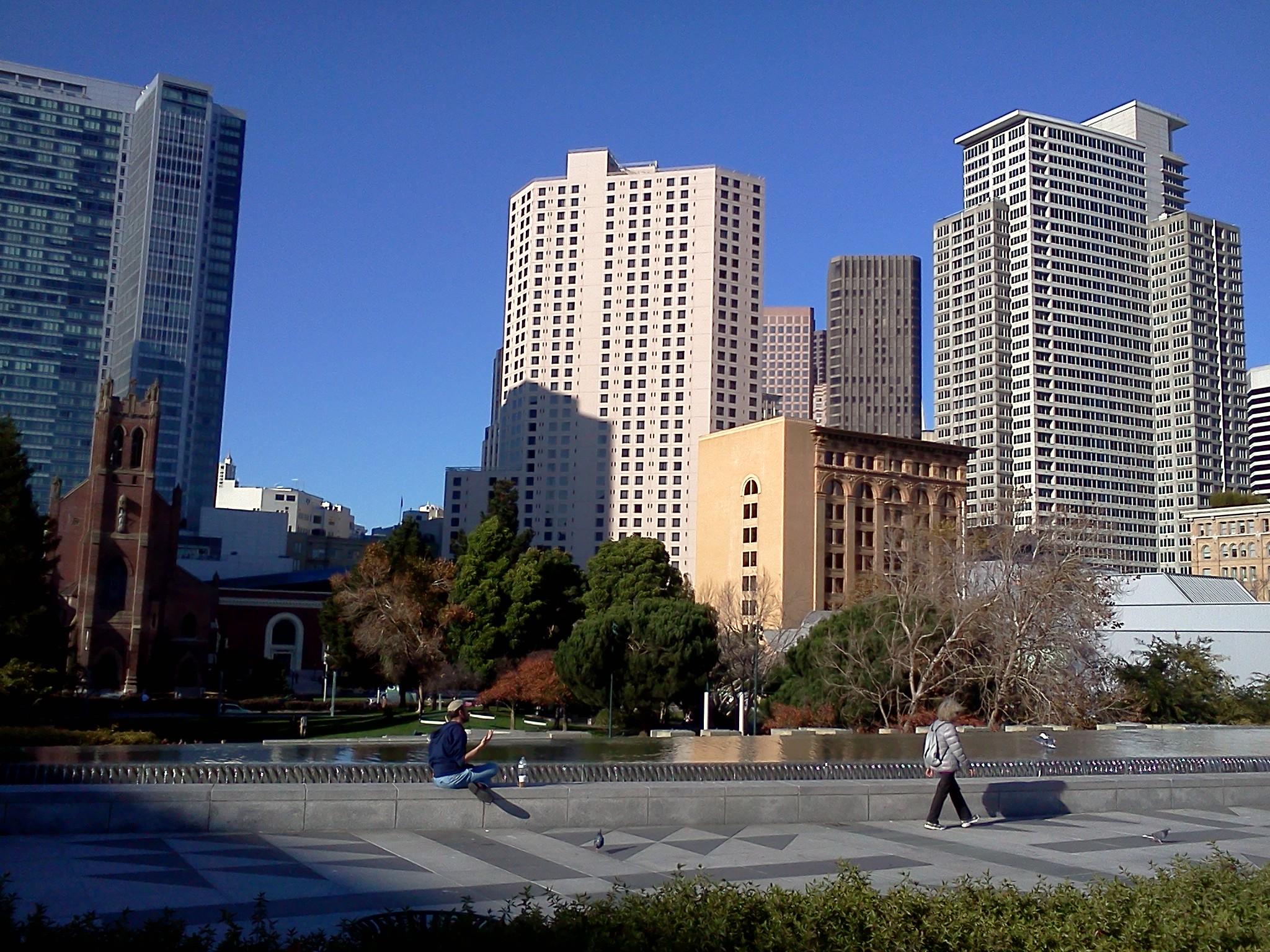 Yerba Buena Gardens, November 2011