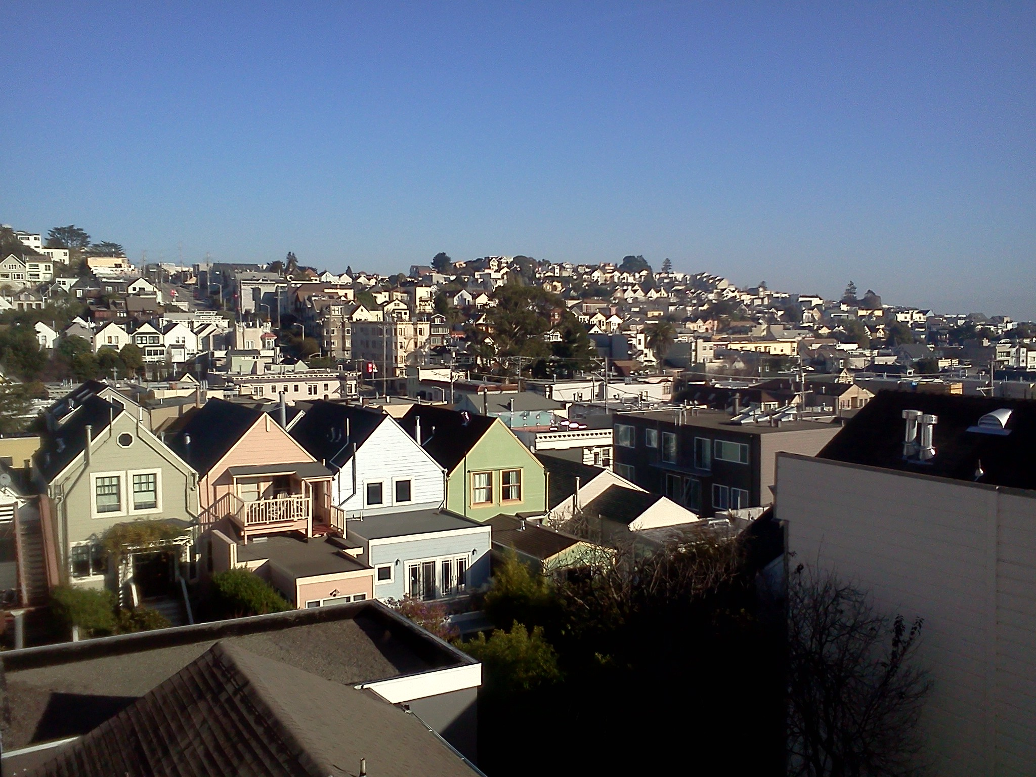 View from Noe Valley, January 2012