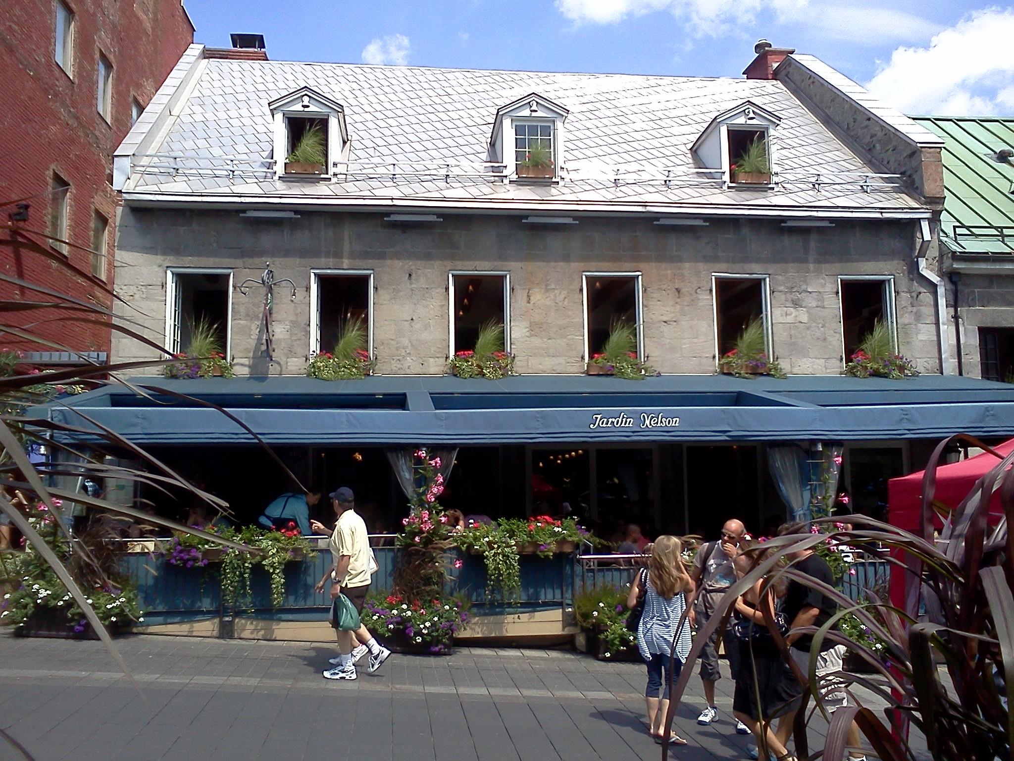 Montreal, Jardin Nelson, August 2011