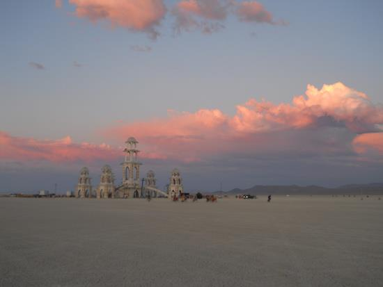 The Temple of Transition, Burning Man, August 2011