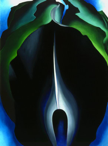Jack in the Pulpit No. IV ,Georgia O'Keefe