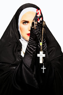 The Nun. Photo by Sequoia Emmanuelle.  www.from6to9andbeyond.com
