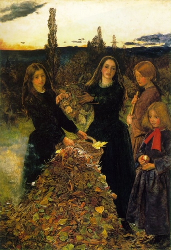 Autumn Leaves,  Millais