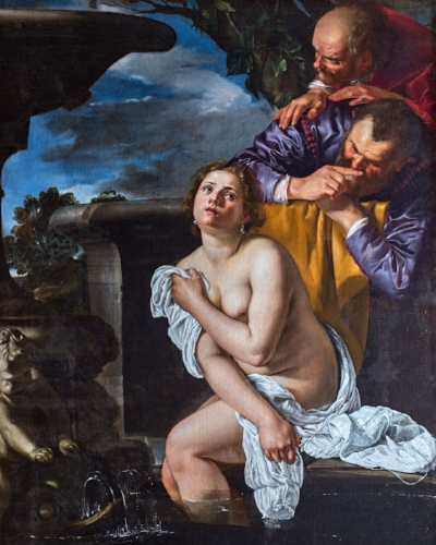 Susanna and the Elders by Artemisia    Gentileschi