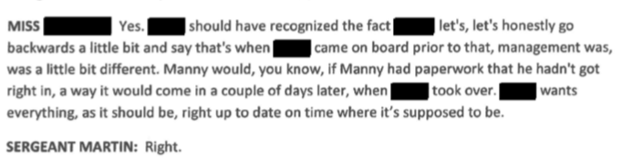 "Furtado admits that Manny had gotten away with doing this in the past. Giving a ""shelter card"" and not the actual animal to Forever Paws."