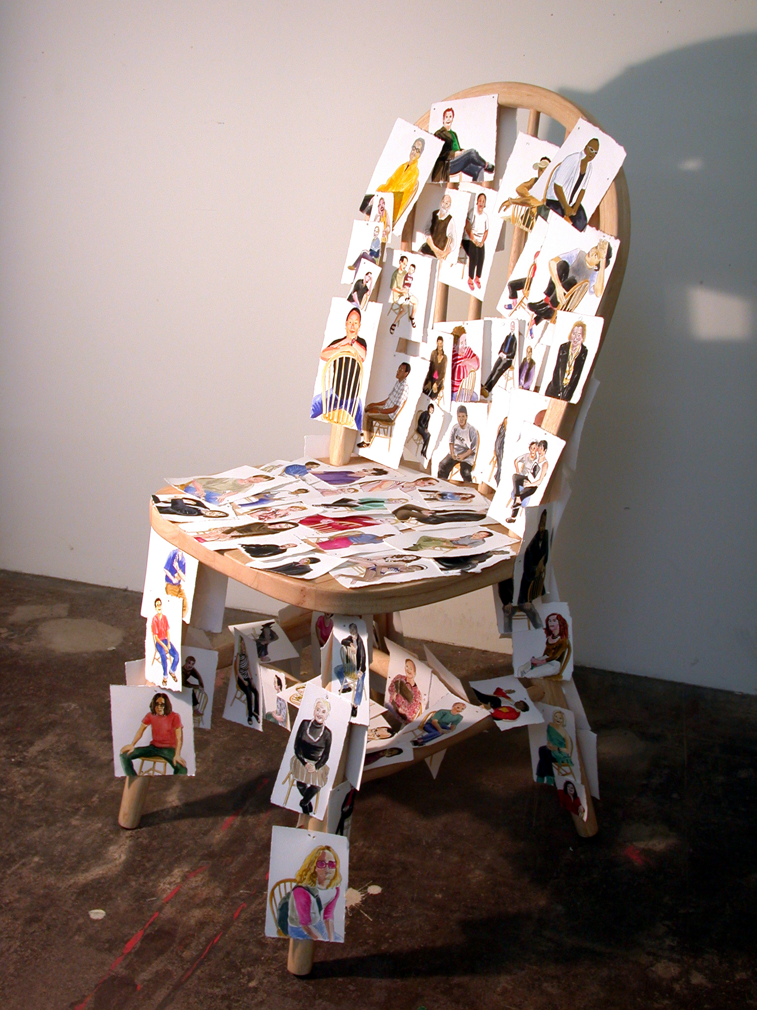 Everyone Who Sat On This Chair, 2002