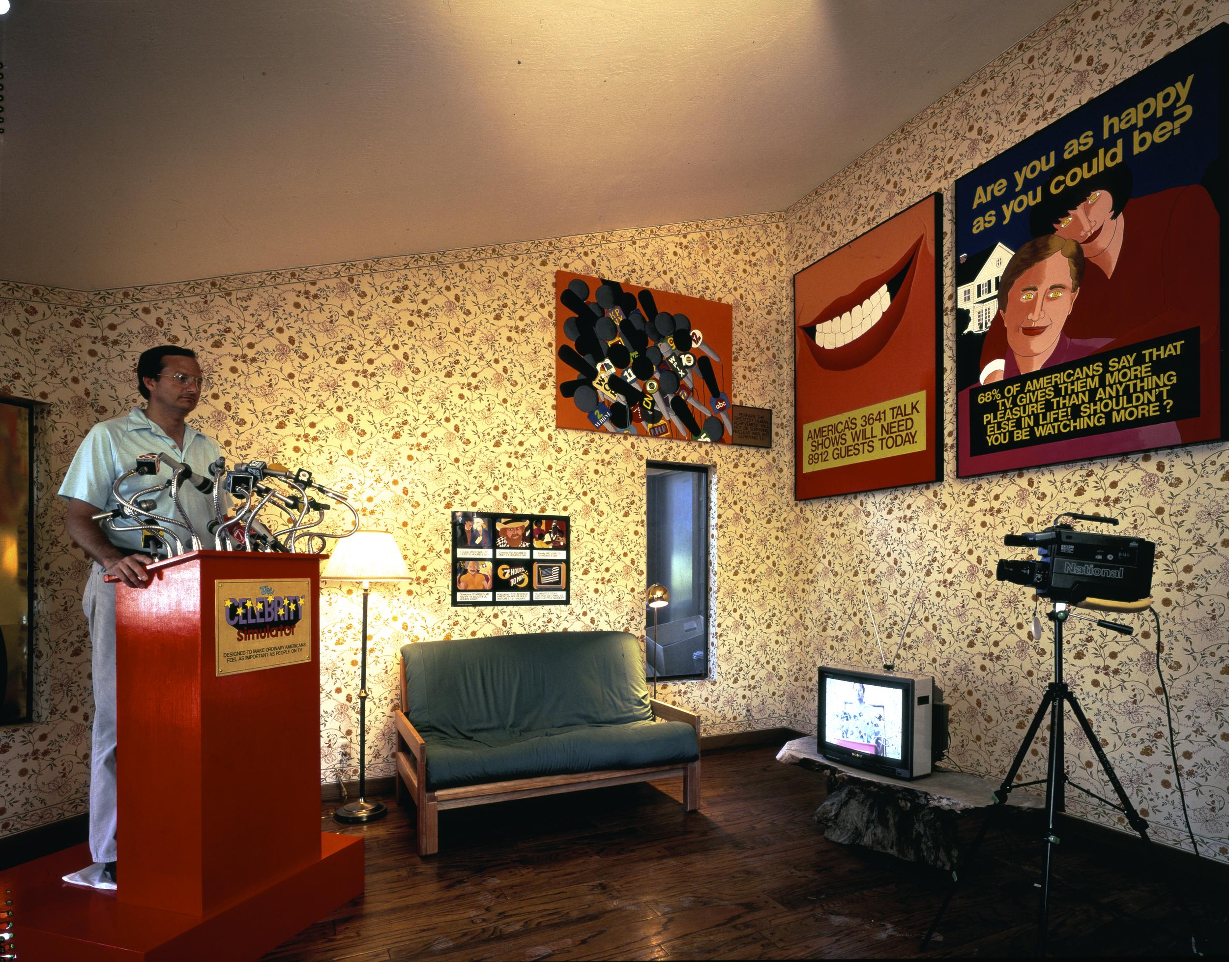 The Celebrity Simulator, 1988