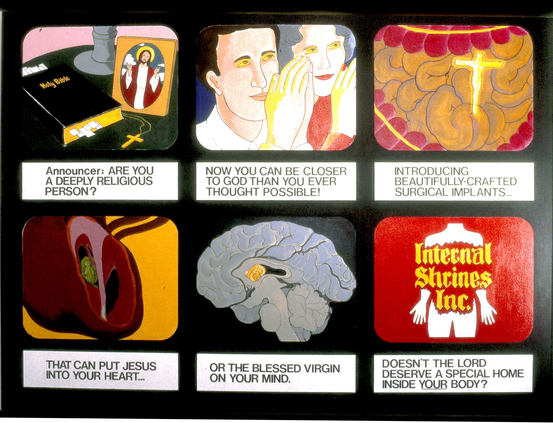 Internal Shrines, 1986