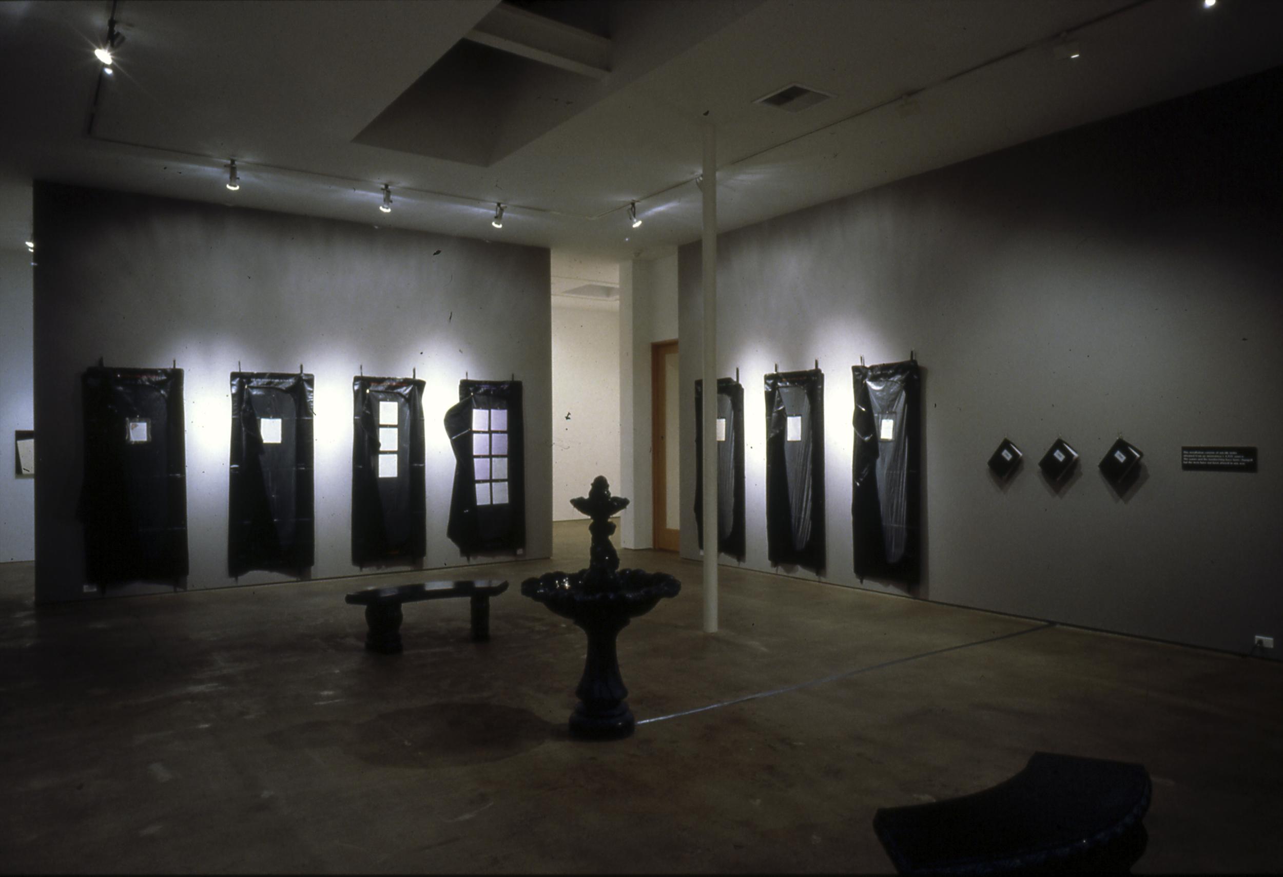 Suicide Notes installation 1993-5