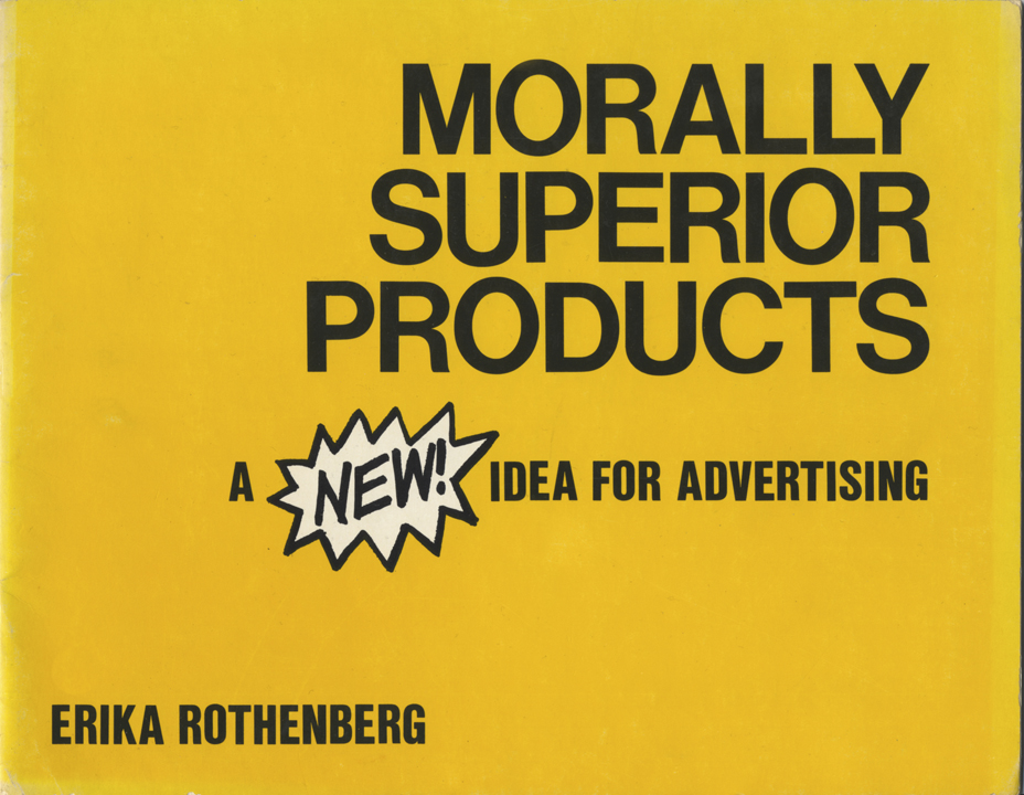 Morally Superior Products book cover, 1983