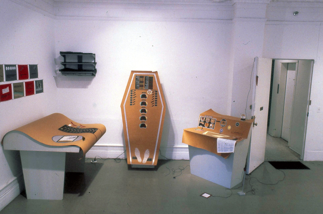 Computer Installation, Artists Space, NY 1981