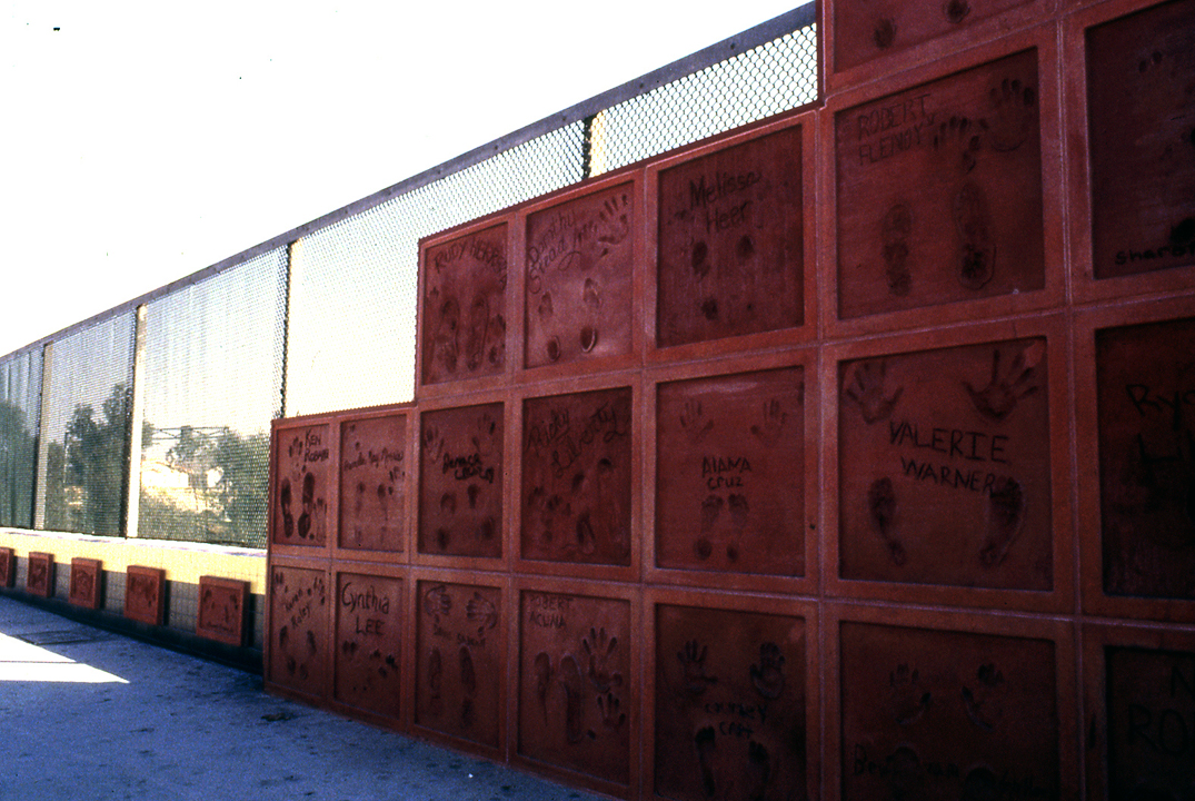 The Wall of (Un)Fame 1995, Lakewood Blvd MetroRail station