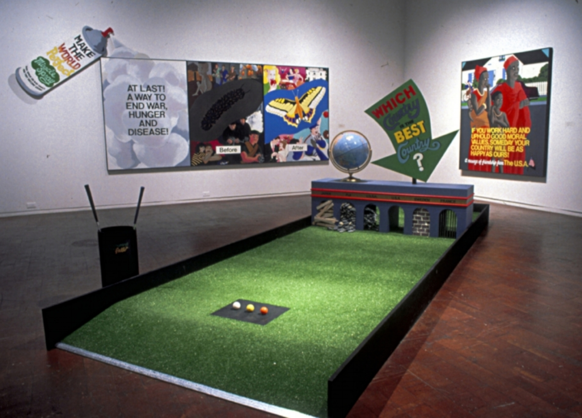 Which Country Is The Best Miniature Golf, 1989