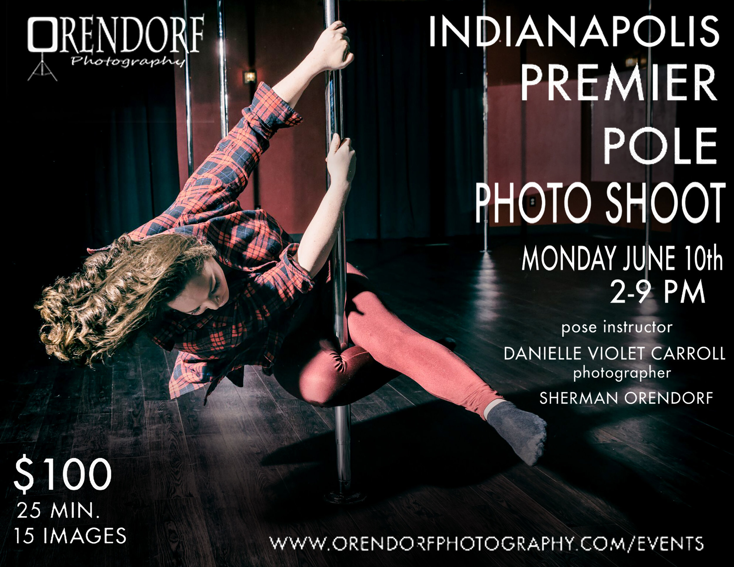 Indianapolis pole photo shoot